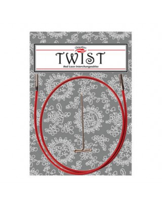 Cables ChiaoGoo Twist red