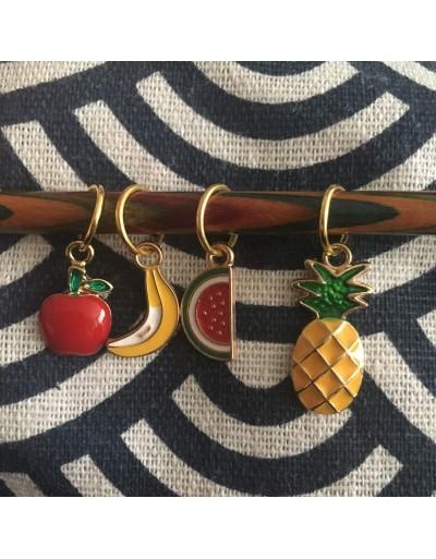 Marcapuntos frutas